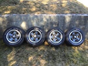 Camaro Z28 Steel Rally Wheels