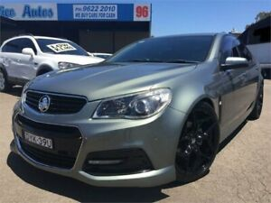 2013 Holden Commodore VF SV6 Prussian Steel 6 Speed Manual Sedan Blacktown Blacktown Area Preview