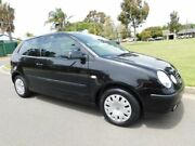 2002 Volkswagen Polo 9N MY2002 SE Black 5 Speed Manual Hatchback Somerton Park Holdfast Bay Preview