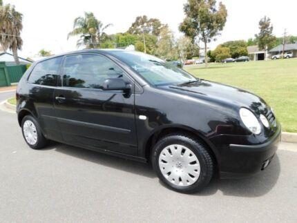 2002 Volkswagen Polo 9N MY2002 SE Black 5 Speed Manual Hatchback Somerton Park Holdfast Bay Preview