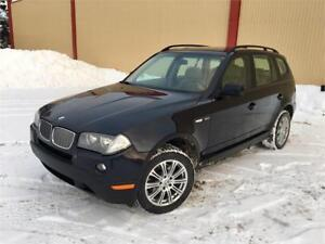 2008 BMW X3 3.0i **122,000km** CUIR / TOIT PANORAMIQUE / MAGS !