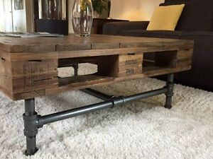 Mid-century modern, exclusive pallet coffee table Gatineau Ottawa / Gatineau Area image 3