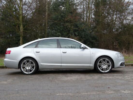 AUDI A6 2.0 TDI S LINE SPECIAL EDITION 4d 168 BHP (silver) 2010