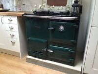 Lovely Green Rayburn 380G - Natural Gas