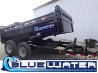 2015 Load Trail TA Dump Trailer 83x12-WITH SCISSOR HOIST!!!