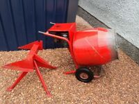 Belle petrol mixer, belle minimix 150 cement mixer £165