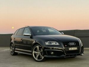 2012 Audi S3 8P MY12 Limited Edition Sportback S Tronic Quattro Black 6 Speed Blacktown Blacktown Area Preview