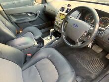 2004 Ford Fairmont BA Ghia Silver 4 Speed Automatic Sedan Upper Ferntree Gully Knox Area Preview