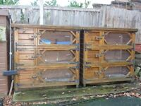 5ft tripple hutch by Rydale hutches