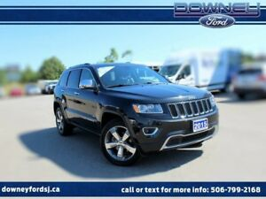2015 Jeep Grand Cherokee Limited 4x4 Loaded leather Nav Htd Seat