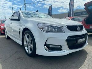 2015 Holden Ute VF MY15 SV6 Ute White 6 Speed Sports Automatic Utility Cardiff Lake Macquarie Area Preview
