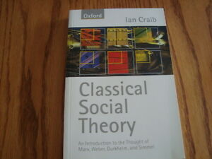 Classical Social Theory 9780198781172 Textbook