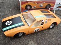 Retro mangusta battery controlled car.