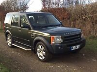2004 (54) Land Rover Discovery 3. 2.7 Tdv6 HSE Automatic, 7 seats, Tonga Green, Alpaca Leather