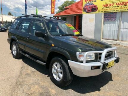 2000 Nissan Pathfinder WX II TI Green Automatic Wagon Kurri Kurri Cessnock Area Preview