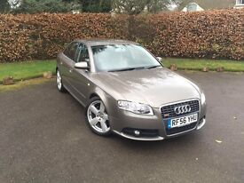 **MUST SELL** AUDI A4 2.0 TDI S LINE SPECIAL ADDITION QUATTRO- BLUETOOTH AND BIKE RACK INCLUDED!