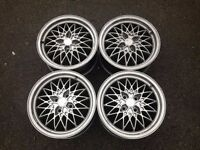 "Exip 15"" 4x100 7j alloy wheels. Deep dish. not borbet bbs, ats, lenso, hartge, brabus"