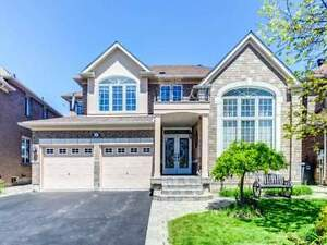 Beautiful Detached 4 BDRM Home With Double Car Garage For Sale