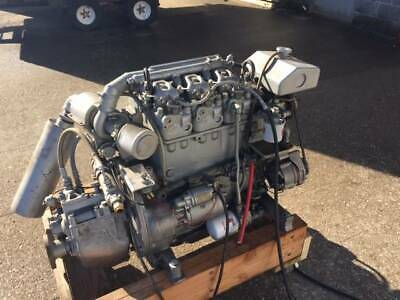 Deutz Td203.3 Marine Diesel Engine 62 Hp 3 Cylinder With Transmission