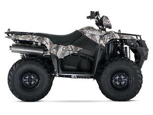 SUZUKIN KINGQUAD 750AXI POWER STEERING CAMO West Island Greater Montréal image 1
