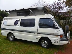 MAZDA campervan poptop fridge gas elec auto economic ready to go Perth Perth City Area Preview