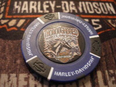 Blue & Black Poker Chip Thoroughbred Harley Davidson Florence, KY