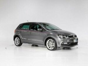 2015 Volkswagen Polo 6R MY15 81 TSI Comfortline Grey 7 Speed Auto Direct Shift Hatchback Cooee Burnie Area Preview