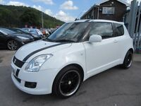Suzuki Swift 1.3 SZ3 3d 91 BHP low insurance and tax groups ! (white) 2010