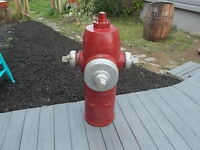 Vintage 1976 Cast Iron Fire Hydrant