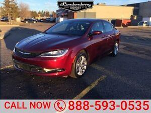 2015 Chrysler 200 S SEDAN Accident Free,  Bluetooth,