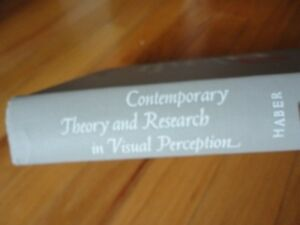 Contemporary Theory and Research in Visual Perception By haber London Ontario image 2