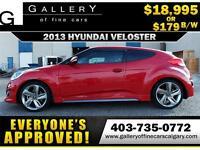 2013 Hyundai Veloster TURBO $179 BI-WEEKLY APPLY NOW DRIVE NOW