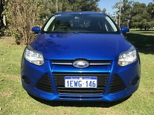 2015 Ford Focus LW MKII MY14 Ambiente PwrShift Blue 6 Speed Sports Automatic Dual Clutch Hatchback
