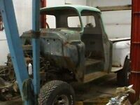1957 Chevy shorty step side 4x4 project