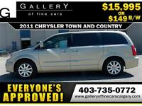 2011 Chrysler Town & Country $149 bi-weekly APPLY NOW DRIVE NOW