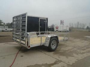 GET MORE OPTIONS W/ 2016 ALUMINUM FRAME 5X10 UTILITY TRAILER London Ontario image 6