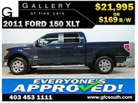 2011 FORD F-150 ECOBOOST *EVERYONE APPROVED* $0 DOWN $169/BW!