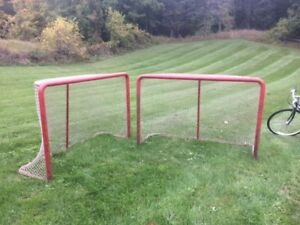 Hockey Nets - Official size, Heavy weight.