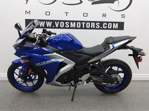 2017 Yamaha YZF R3- Stock #2577- No Payments for 1 Year**