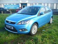 Ford Focus 1.6 Titanium 5dr (blue) 2010