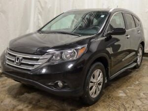 2014 Honda CR-V Touring AWD w/ Leather, Navigation, Bluetooth