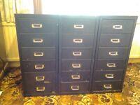 Multidrawer filing cabinets similar to Bisley