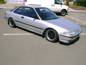Look for 90 to 93 Acura integra