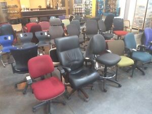 Used High-End Office Chairs- Starting at $ 59.00/ Ea!