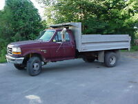 DUMP TRUCK TO HAUL FILL 6 TON CAPACITY