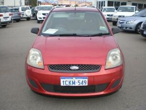 2006 Ford Fiesta WQ LX Burgundy 5 Speed Manual Hatchback Victoria Park Victoria Park Area Preview