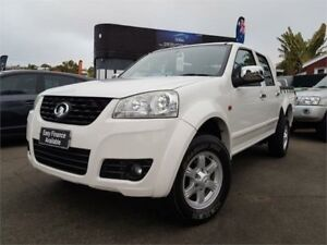 2012 Great Wall V200 K2 (4x4) White 6 Speed Manual Dual Cab Utility Mount Hawthorn Vincent Area Preview