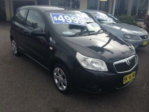 2008 Holden Barina TK MY09 Black 5 Speed Manual Hatchback Broadmeadow Newcastle Area Preview