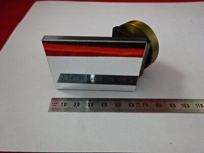 Vickers England Photoplan Mirror Illuminator Optics Microscope Part 90-b-65