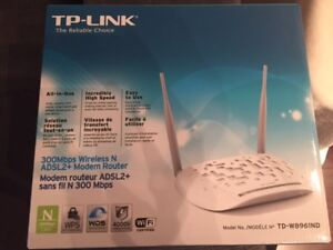 300 Mbps Wireless N ADSL2+ Modem Router